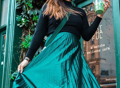 Wear Green! Autumn Fashion Trends 2021